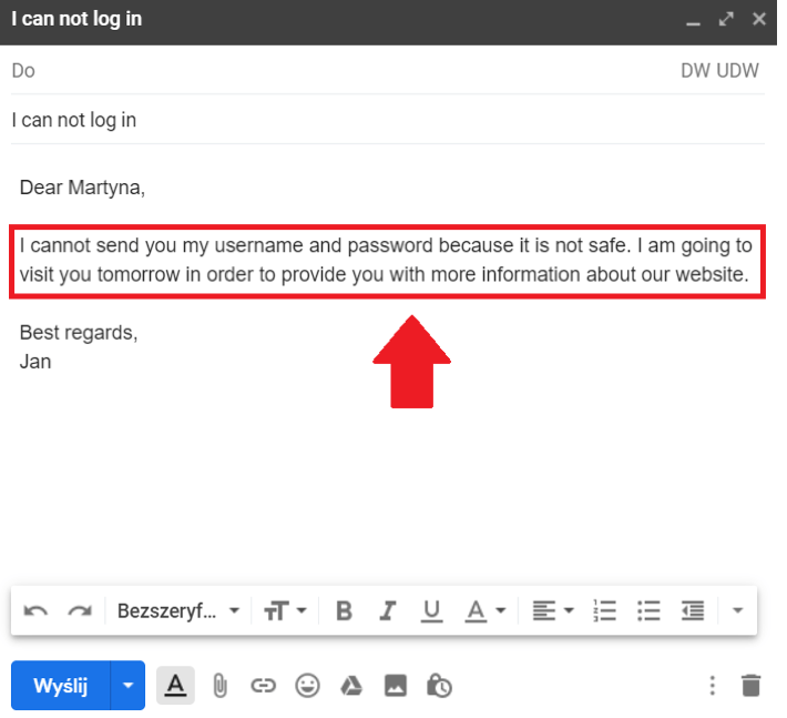 e-mail bezpieczeństwo