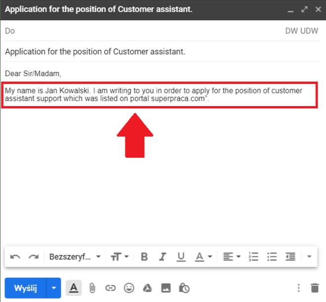 e-mail wprowadzenie