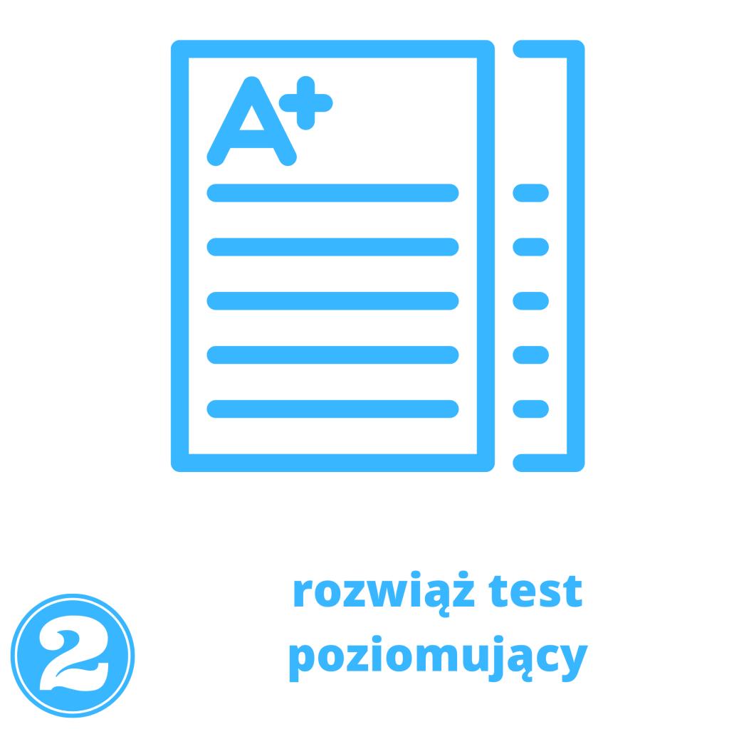 test poziomujący przed kursem angielskiego online