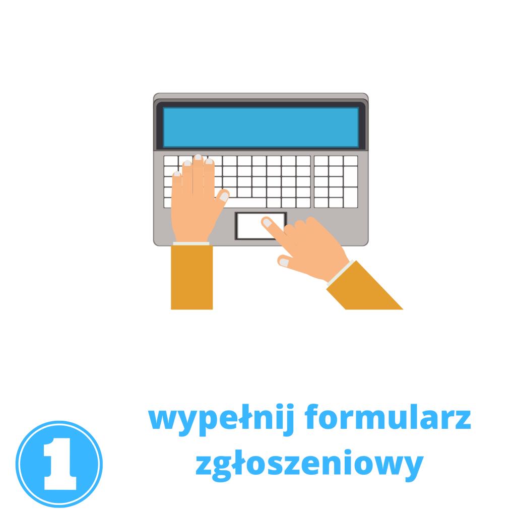 wypełnij formularz na lekcje angielskiego online